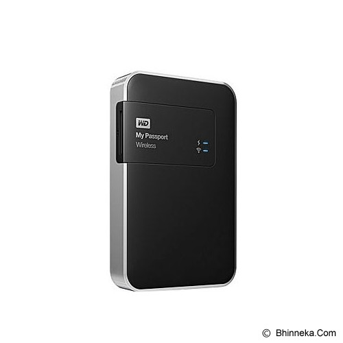 WD My Passport Wireless 1TB [WDBK8Z0010BBK-PESN] - Hard Disk External 2.5 Inch
